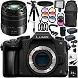 Panasonic Lumix DMC-G85 Mirrorless Micro Four Thirds Digital Camera with Lumix G Vario 14-140mm f/3.5-5.6 ASPH. POWER O.I.S. Lens (White Box) 16PC Bundle - International Version (No Warranty)