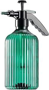 HIOVIOSS Plants Mister Spray Bottle Handheld Pump Sprayer Green Retro Large House Watering Mist Can for Indoor Garden Pressure Sprayer 2L/0.5G