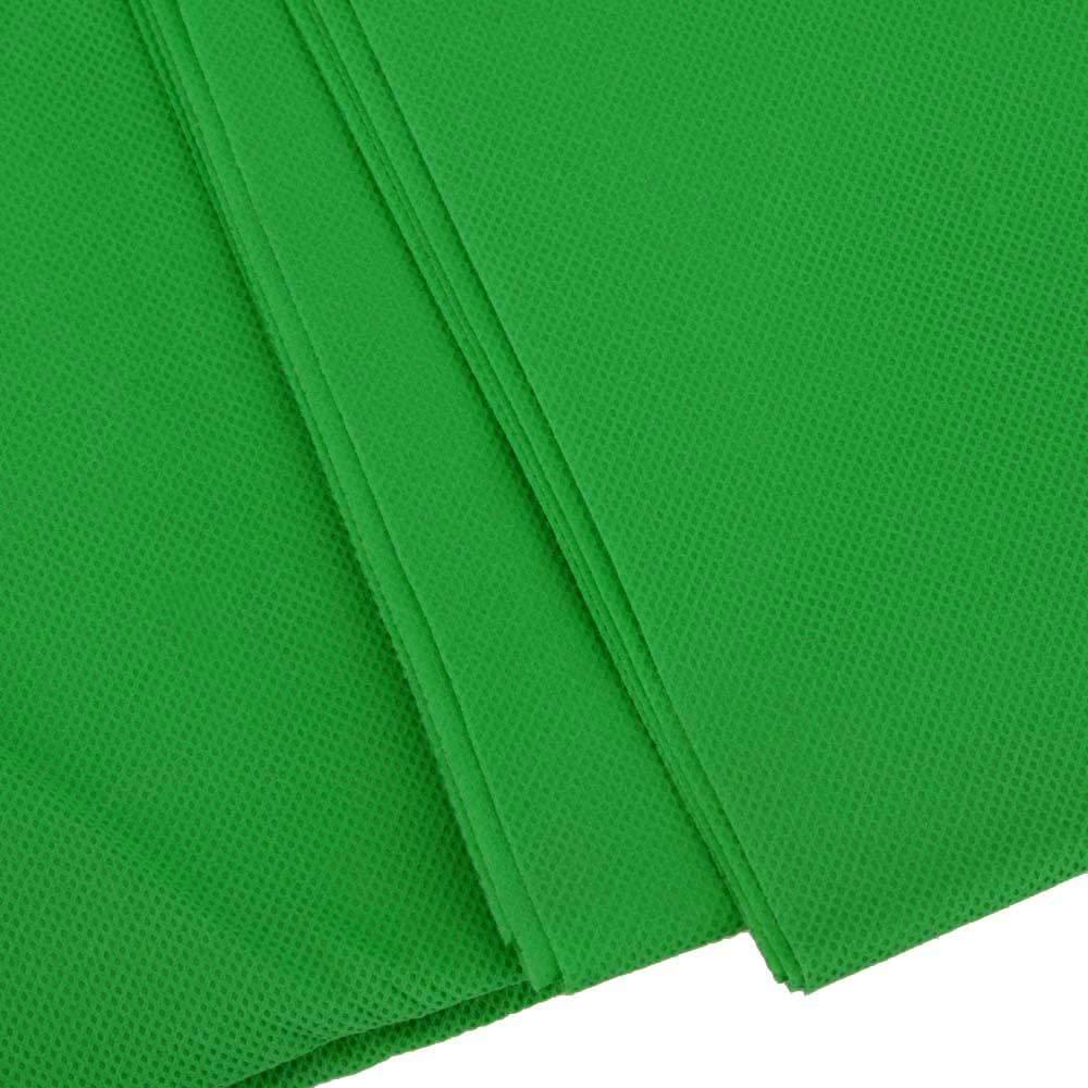 Andoer® 1,6 x 3 m / 5 x 10 FT Telón de Fondo Pantalla No Tejido para Estudio de Fotografía sin el soporte (Verde Fondo de estudio 1.6m * 3m)