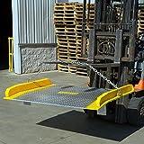"""60"""" x 48"""" Aluminum Dock Board 15,000 lb. Capacity"""