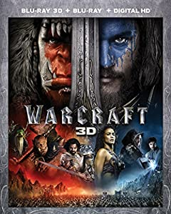 Cover Image for 'Warcraft [Blu-ray 3D + Blu-ray + Digital HD]'