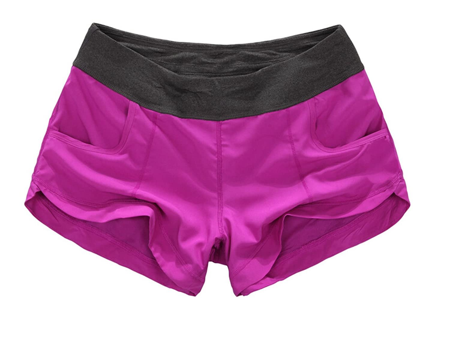 Generic Womens Casual Shift Active Loose Splice Yoga Shorts