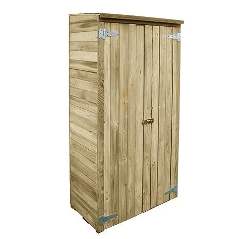 Armadio mobile legno impregnato in autoclave esterno attrezzi ...