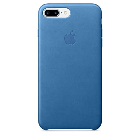 the best attitude d18e1 b6942 Apple Leather Back Cover Case for iPhone 7 Plus - Sea Blue