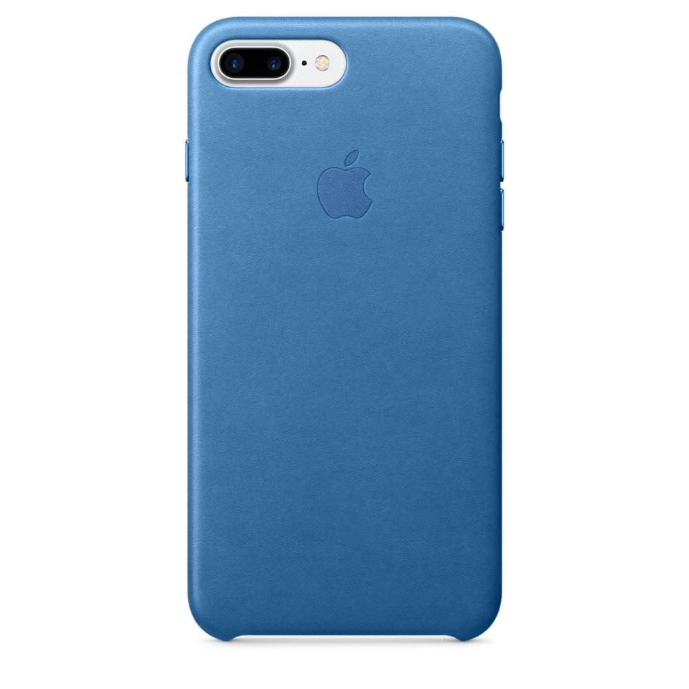 Apple Leather Case for iPhone 7 Plus - Sea Blue