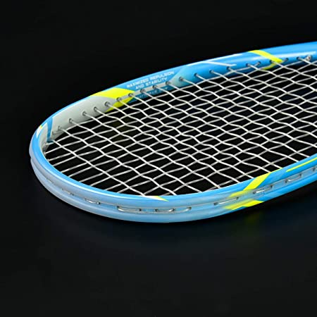 Amazon.com : QICHUAN Graphite Squash Racquet 125g Four Colors with Overgrip Bag (Blue) : Sports & Outdoors