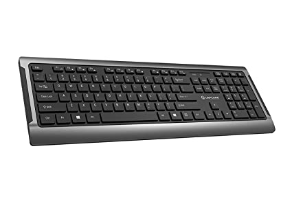 f3399cb96fc Image Unavailable. Image not available for. Colour: Lapcare Wireless Kb Solo  Plus Keyboard ...