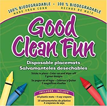 Amazon.com: Dulce bebé Good Clean Fun desechables manteles ...