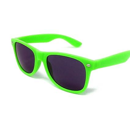 Gafas de sol de estilo Wayfarer, unisex, protección UV400 ...