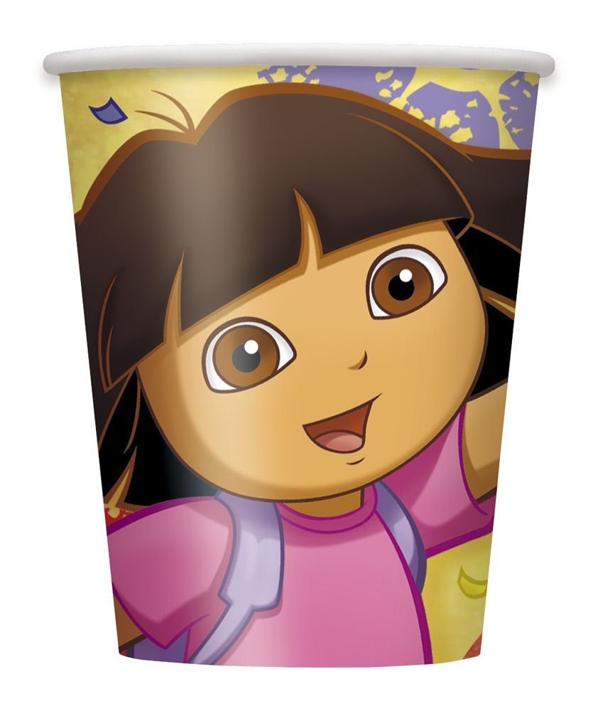 Amazon.com: Dora the Explorer Beverage Napkins, 16ct: Toys & Games