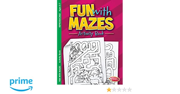 Fun With Mazes Activity Book Ages 5 7 Pack Of 6 Warner Press