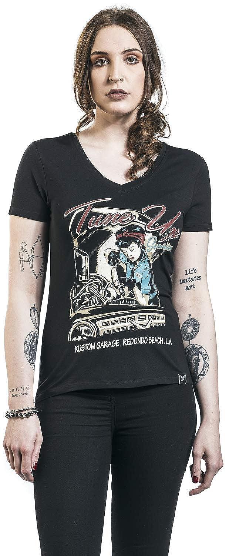 Queen Kerosin Tune Up T-Shirt schwarz