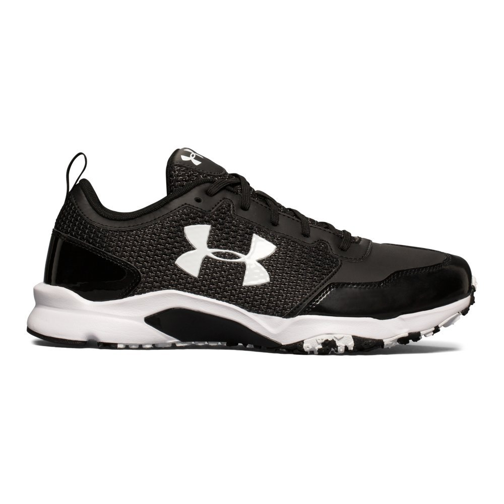 Under Armour Men's Ultimate Turf Trainer, Black (001)/Black, 8.5