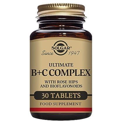 Solgar Ultimate B + C Complex Comprimidos - Envase de 30