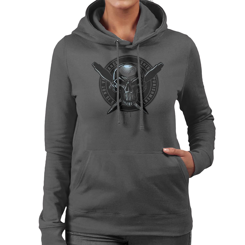 Pale Rider Punisher Women's Hooded Sweatshirt