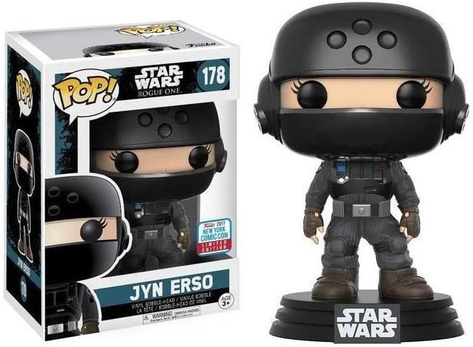Funko/ /Star Wars Rogue One/ /Pop Vinyl Figure 178/Jyn Erso NYCC 2017/Convention Exclusives 10/cm 20119
