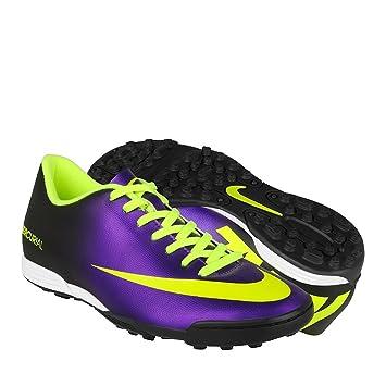 finest selection 9c70f 473c8 Nike Mercurial Vortex TF Fussballschuhe electro purple-volt-black - 45,5
