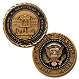 #4: Donald Trump 45th President of the United States of America Challenge Coin