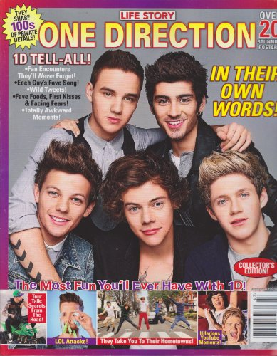 Life Story One Direction In Their Own Words Magazine