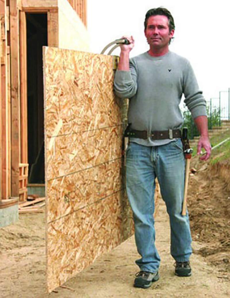ANJUYA an Gorilla Gripper Advantage Panel Plywood Carrier Handy Grip Board Hand Tool