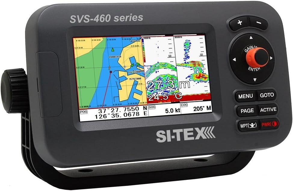 Si-tex SVS-460CE Chartplotter - Pantalla a color de 4,3