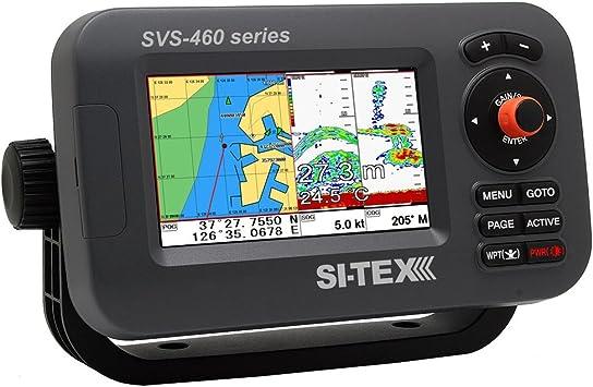Si-tex SVS-460CE Chartplotter - Pantalla a color de 4,3 pulgadas con GPS externo [SVS-460CE]: Amazon.es: Deportes y aire libre