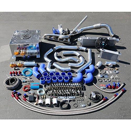 Bmw Turbo Kit (BMW 3-Series E36 High Performance 25pcs GT35 Turbo Upgrade Installation Kit)