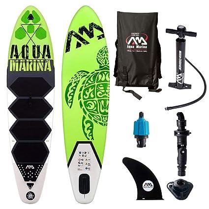 Amazon.com: Aqua Marina hinchable stand-up THRIVE Paddle ...
