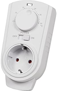 enchufes de termostato McPower TCU de 330 5 – 30 °C, Max.