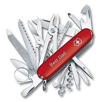 Amazon.com: Victorinox - Cuchillo personalizable, diseño de ...