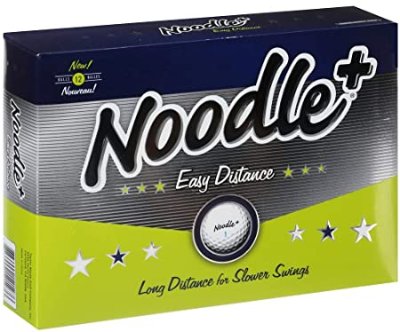 Noodle Plus Easy Distance Golf Balls 1 Dozen
