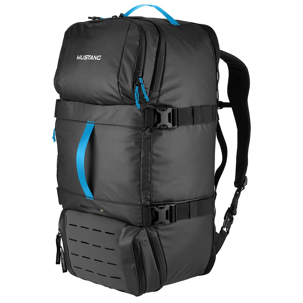 Mustang Survival Bluewater Backpack Gear Hauler w// Waterproof Compartment 55L Gray