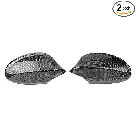 Amazon.com: Cubierta de espejo retrovisor de fibra de ...