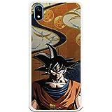 Funda para Xiaomi Redmi 7A Oficial de Dragon Ball Goku Silueta para Proteger tu móvil. Carcasa para Xiaomi de Silicona…