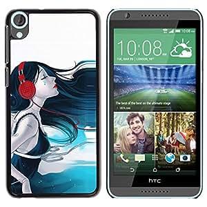 Be Good Phone Accessory // Dura Cáscara cubierta Protectora Caso Carcasa Funda de Protección para HTC Desire 820 // Sound Beauty