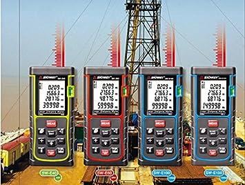 Bosch Entfernungsmesser Digital : 100 m digital e100 von laser entfernungsmesser mit range finder