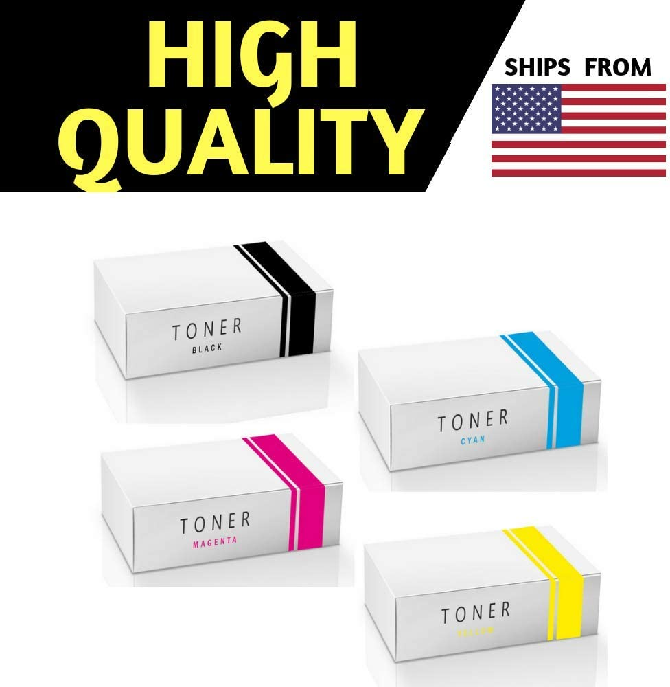 CP4525n CP4525xh CP4025n CP4525 Series CP4525dn CP4025dn Best Compatible Cartridge for HP 647A//648A CE260A,261A,262A,263A Toner Cartridge Combo Pack BK//C//M//Y -,for Color Laserjet CP4025 Series