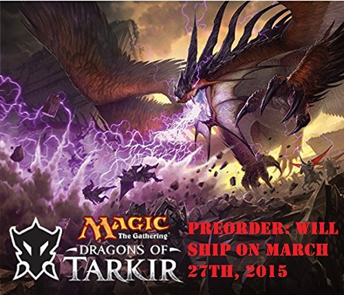 MTG Magic the Gathering Dragons of Tarkir - 6 Booster Packs (15 cards per pack) - Pre-Order Ships March 27th