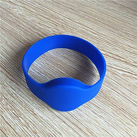 Access Control Cards Fast Deliver Wristband Proximity 125khz T5577 Recordable Silicone Rfid Wristband Adjustable Watch Wrist Strap Access Control High Quality