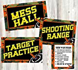 nerf poster target - Dart Tag Themed Party Supplies (Posters and Signs)