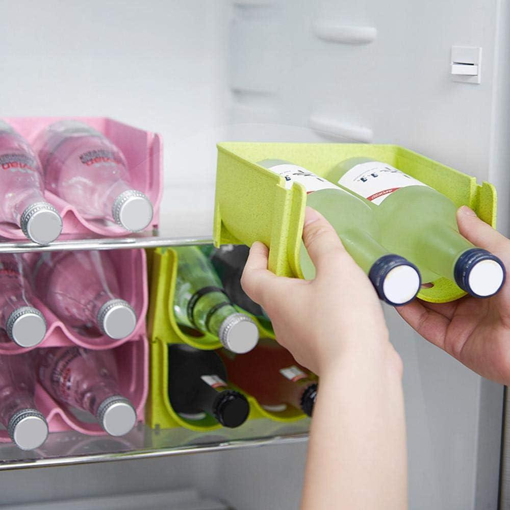 Hamkaw Refrigerador Organizador para Bebidas, Caja de ...