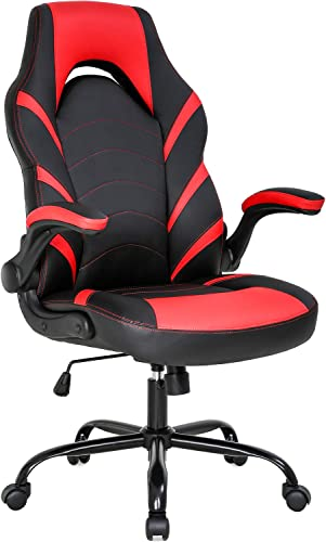 Reviewed: Gaming Chair Home Office Chair PC Computer Chair Rolling Swivel Desk Chair