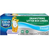 """Fresh Step Drawstring Scented Litter Box Liners 