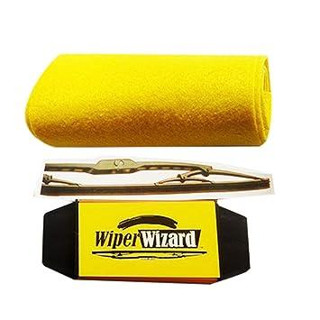 Ballylelly Cepillo de Limpieza del Cepillo del Coche Van Wizard Herramienta del limpiaparabrisas limpiaparabrisas restaurador Limpiador Cuchillas de ...
