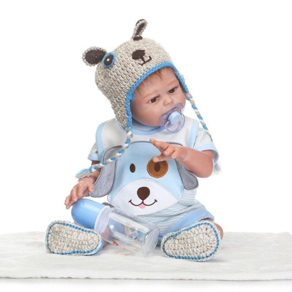 SHTWAD Realista Gemelo Renacido Bebé Muñecas Suave de ...