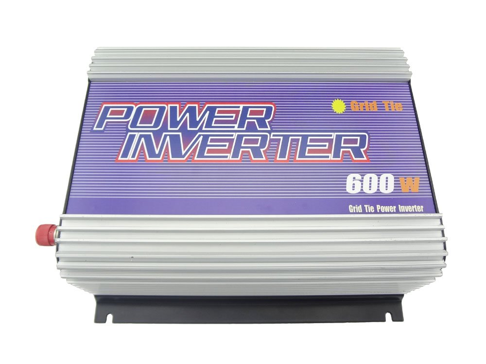 MISOL 600W Inverter (DC10.8V-30V to 110VAC), grid tied, for PHOTOVOLTAIC system