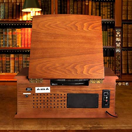 Estilo de gramófono Antiguo Voz de Nostalgia Retro • Reproductor ...