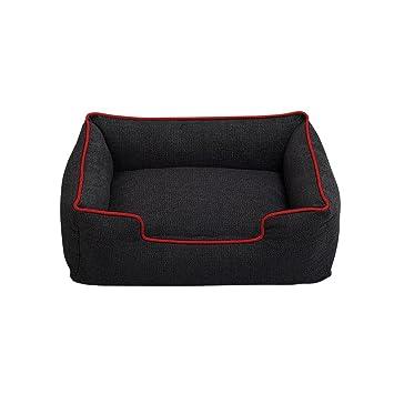perros accesorios camas Sannysis perros accesorios en hogar para mascotas camas de vaqueros, rectángulo: Amazon.es: Deportes y aire libre