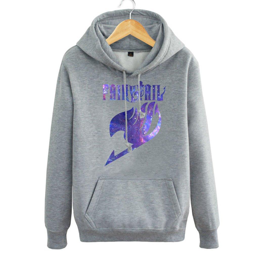 Fairy Tail Anime Purple Logo Costume Hoodie, Asian Size, Four Colors: 0630412939638: Amazon.com: Books
