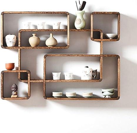 76 * 56 * 10 cm de madera cuadrado de decoración de la pared ...